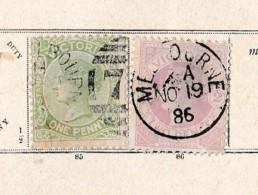 Victoria     .            Pagina Met Zegels       .          /           .    Page With Stamps