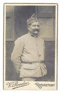 Photo CDV Soldat - Photographie Roeder, Remiremont - Guerre, Militaire