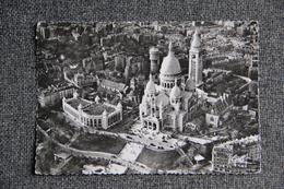 PARIS - Vue Aérienne De La Basilique Du Sacré Coeur De MONTMARTRE - Autres Monuments, édifices
