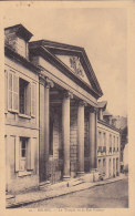 Ag - Cpa BOLBEC - Le Temple Et La Rue Pasteur (Eglise Réformée De France) - Bolbec