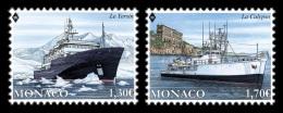 Monaco 2017 Mih. 3333/34 Ships Yersin And Calypso MNH ** - Monaco