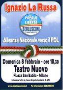 B 342 - Politica, Alleanza Nazionale - Partis Politiques & élections