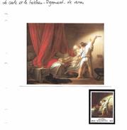 La Carte Et Le Tableau - Fragonard - Le Verrou - Art