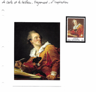 La Carte Et Le Tableau - Fragonard - L'inspiration - Art