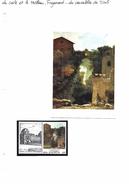 La Carte Et Le Tableau - Fragonard - Les Cascatelles De Tivoli - Art