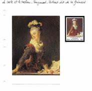 La Carte Et Le Tableau - Fragonard - Portrait Dit De La Guimard - Art
