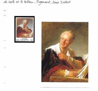 La Carte Et Le Tableau - Fragonard - Denis Diderot - Art