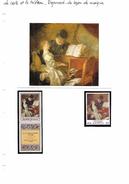 La Carte Et Le Tableau - Fragonard - La Leçon De Musique - Art