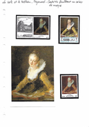 La Carte Et Le Tableau - Fragonard - Cantatrice Feuilletant Un Cahier De Musique - Art