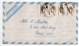 ARGENTINE--1972-lettre De BUENOS AIRES Pour PARIS(France)--timbres Sur Lettre-cachet - Argentine