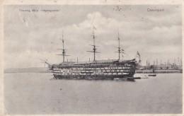 AP58 Shipping - Training Ship Impregnable At Devonport - Sailing Vessels