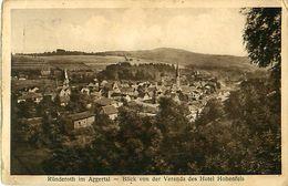 Cpa RÜNDEROTH Im AGGERTAL - Blick Von Der Veranda Des Hotel Hohenfels - Autres