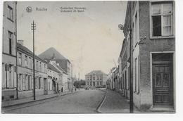 Assche - Gentschen Steenweg (met Duitse Militaire Stempels) - Asse