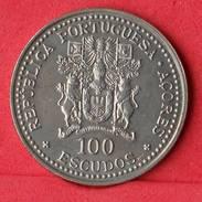 AZORES 100 ESCUDOS 1986 -    KM# 45 - (Nº10231) - Azores