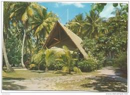 R2374 Moorea - Club Mediterranee - La Boutique Du Village - Coucher Sunset Tramonto / Non Viaggiata - Polinesia Francese