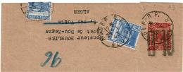 BR39- ALGERIE EP BANDE POUR JOURNAUX ACEP N°13 MOSQUEE 10c/20c CIRCULEE - Algérie (1924-1962)