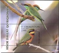 Mint  S/S Fauna Birds 2015 (2016) From Uzbekistan - Vögel