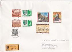 Österreich, 1992, R-Brief Von Graz Nach Deutschland (i073) - 1945-.... 2nd Republic