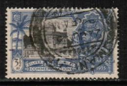 INDIA  Scott # 147 VF USED - 1911-35 Roi Georges V