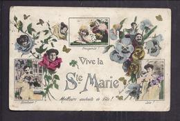 CPA Illustrée Vive La Ste Marie - Décor Illustré XAVIER SAGER Photomontage Surréalisme - Sager, Xavier