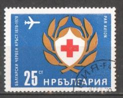 53-838 //BG -1978   100  YEARS BULGARIAN  RED CROSS   Mi 2658 O - Gebraucht