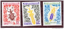TAAF    49 51  Insectes 1973 25% De Cote   Neuf ** MNH Sin Charmela Cote 59 - Nuevos
