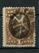 USA 1873 1 Cent Treasury Department  Issue #O72 - Officials