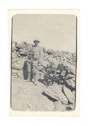 Photo Soldat Au Maroc, Oued Hammer ? , Le Guetteur - Guerre, Militaire