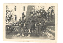 Photo Soldats Alger 1925, Zouaves ? - Guerre, Militaire