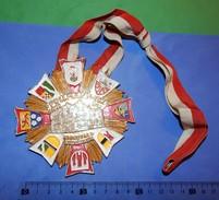 Huge ''Schutz'' Medal: POLLMANN-ECK ANNO 1928. KARNEVAL & NIEDERRHEIN - Carnaval