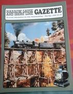 Trains Electriques Modélisme Ferroviaire Narrow Gauge And Short Line Gazette Mars Avril 1995 Volume 21 N° 1 - Boeken, Tijdschriften, Stripverhalen