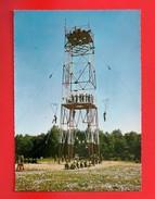 Aviation - Parachutisme - Entrainement Au Sol - Exercice De Descente à La Tour D'arrivée - Divisé/non Circulé - (31) - Paracadutismo