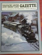 Trains Électriques Modélisme Ferroviaire Narrow Gauge And Short Line Gazette Janvier Février 1996 Volume 21 N° 6 - Boeken, Tijdschriften, Stripverhalen