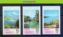 Mdl081 FLORA MILIEUBESCHERMING ENVIRONMENT PROTECTION MOUNTAINS UFER SCHUTZ TURKIJE TURKIYE 1983 PFMNH - Milieubescherming & Klimaat