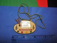 Huge ''Schutz'' Medal: KG GRUEN-WEISS WALSUM EDMUND I BARBARA I SESSION '92-'93 - Carnaval