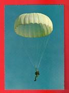 Aviation - Parachutisme - La Descente En Parachute - Divisé/non Circulé - (36) - Paracadutismo
