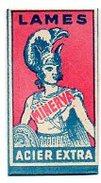L127  Lame Minerva  France - Rasierklingen