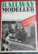 Trains Électriques Modélisme Ferroviaire Railway Modeller Août 1982 - Boeken, Tijdschriften, Stripverhalen