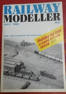Trains Électriques Modélisme Ferroviaire Railway Modeller Juillet 1982 - Boeken, Tijdschriften, Stripverhalen