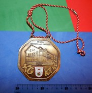 Huge ''Schutz'' Medal: 85 JAHRE ELEKTRIZITATSWERK HAMBORN 1989. - Autres Collections