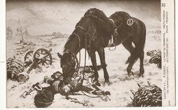 Napoleon La Mort Du Trompette  Par Maurice Dubois Né à Bordeaux Mort à Preignac Cheval - Hommes Politiques & Militaires