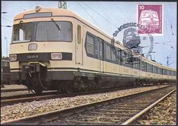 Germany Saarbrucken / Trains / Baureihe ET 420 / S Bahn - Trains