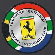 SOUTHERN EQUITORIAL - FERRARI AUTOMOBILI CLUB - 9 Cm - Adesivi
