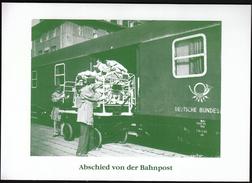 Germany / Abschied Von Der Bahnpost / Trains - Trains