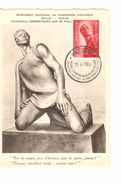 TP 943 S/Carte Maximum Monument National Au Prisonnier Politique C.Breendonck 25/4/1954 PR4324 - Maximum Cards