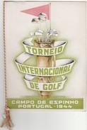 Program * Portugal * Campo De Espinho * 1944 * Torneio Internacional De Golf - Programmes