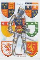 Azincourt   Henry V  Ecussons - France