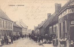 Ledegem Ledeghem - Kerkstraat (top Animation, In De Klok Estaminet, Feldpost 1915) - Ledegem