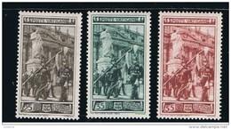 1950 - VATICANO - S04 - SET OF 3 STAMPS ** - Unused Stamps