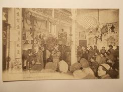 Carte Postale -  Tirailleurs Indochinois  - Guerre 1914/17 - Le Théâtre Et L'Ecole Militaire (1326) - - Guerre 1914-18